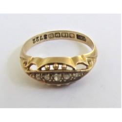 inel aur 18k diamante