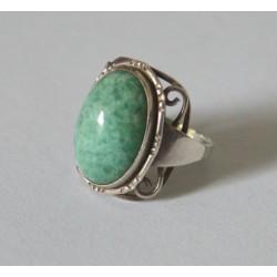 inel vechi argint amazonit