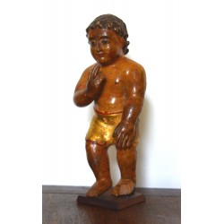 sculptura lemn Iisus secol 18