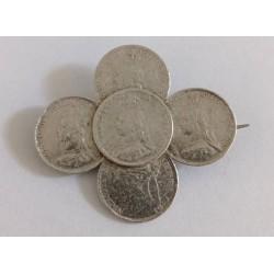 brosa argint Victoria