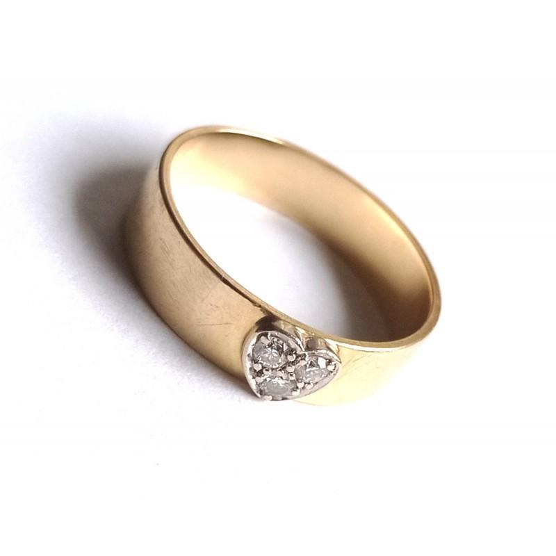 inel verigheta aur diamante