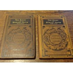 lot 2 carti jurnalul lui samuel pepys