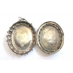 pandantiv caseta argint victorian