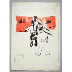 Corneliu Baba- litografie