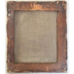 pictura ulei pe panza inceput secol 19
