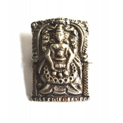 brosa indiana veche argint