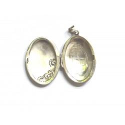 pandantiv caseta argint