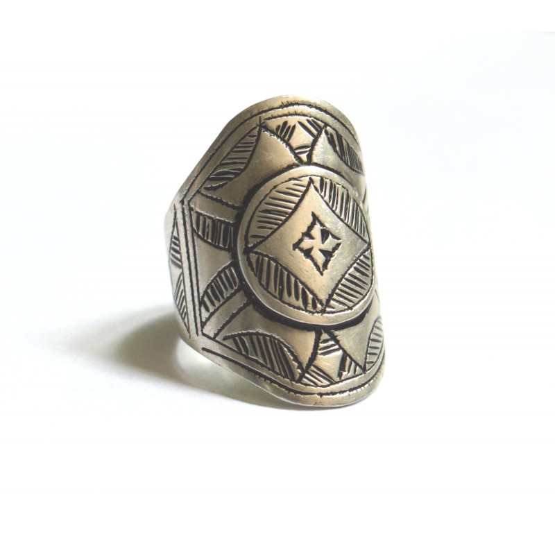 inel etnic tuareg argint