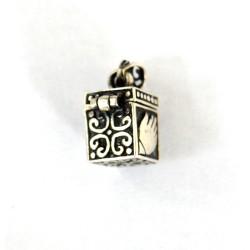 amuleta argint hamsa