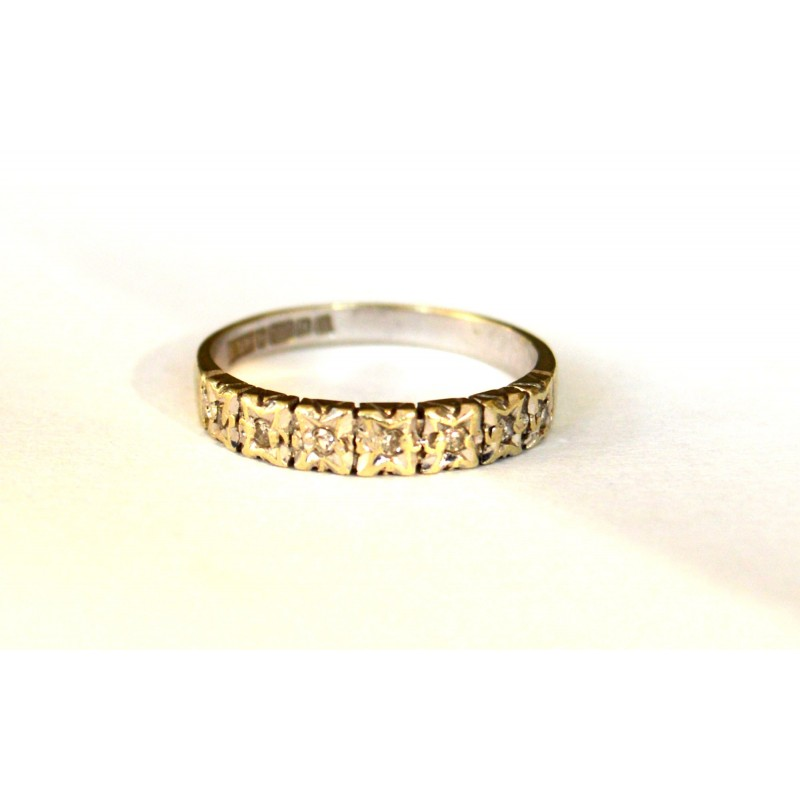 inel aur cu diamante