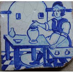 faianta portugheza azulejos secol 18