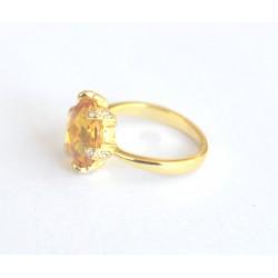 inel argint aurit Elanza