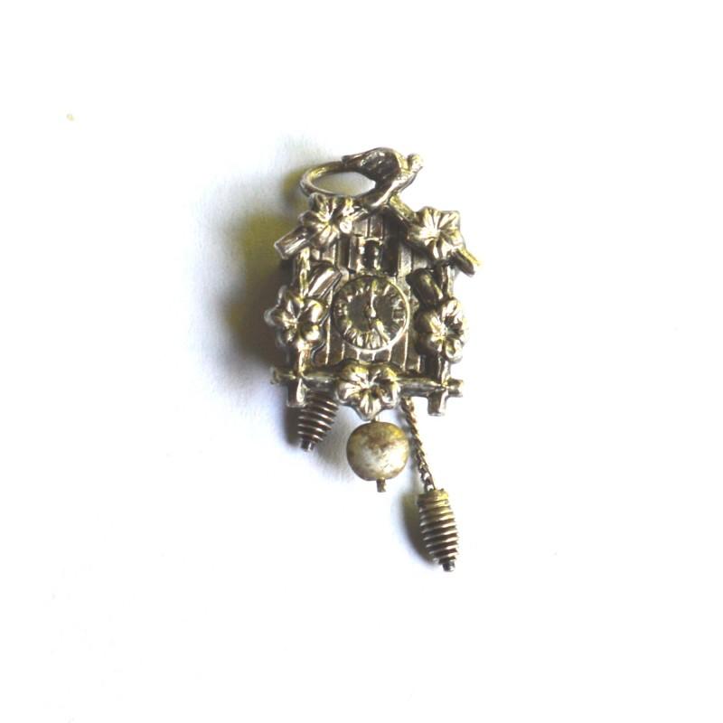 argint german ceas cu cuc