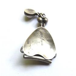 pandantiv argint art nouveau
