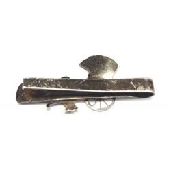 ac cravata vechi argint japonez cu ricșă