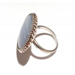 inel argint masiv cu agat design kit heath