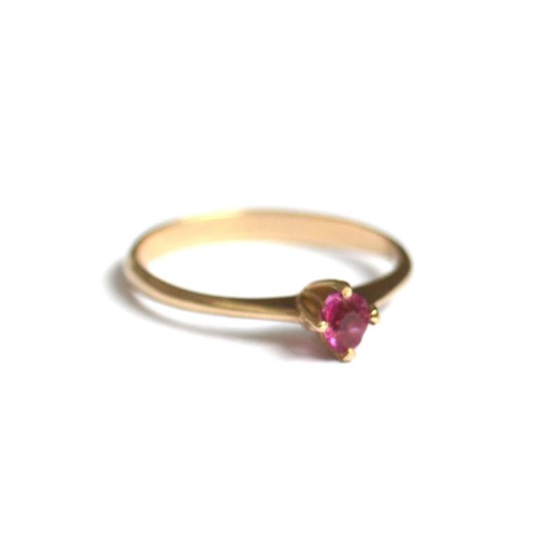inel aur rubin