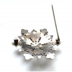 brosa veche argint Abbott Gotshall